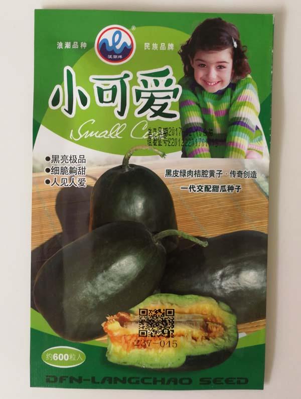 小可爱甜瓜种子-黑皮绿肉黄瓤超甜