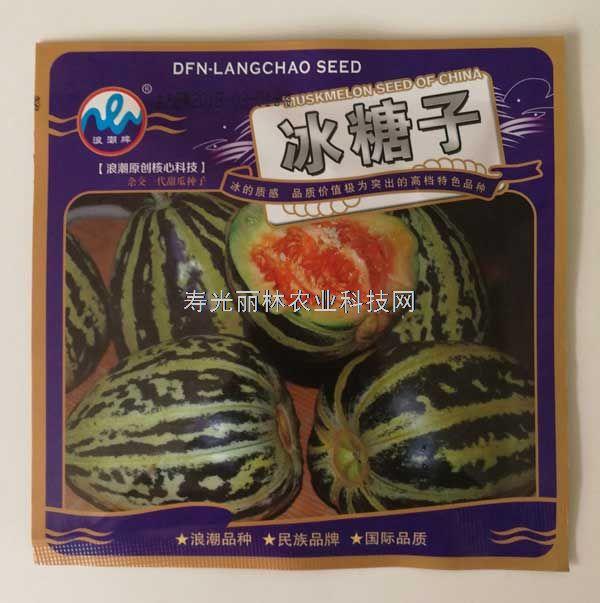 口感甜脆-冰糖子甜瓜种子-糖度高15-18度