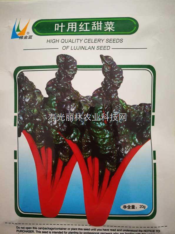 红甜菜种子-金帆叶用红甜菜种子